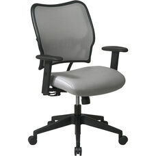 Space VERA Series Deluxe Task Chair with VeraFlex Back - Shadow