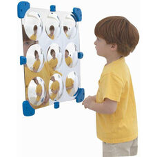 9 Bubble Wall Hung Mini Mirror