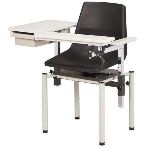 SC Series E-Z Clean Blood Drawing Chair with ClintonClean™ Flip Arm and Drawer