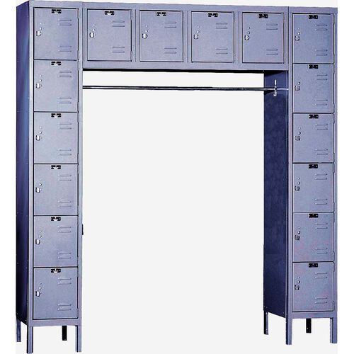 Our Premium Stock Box Locker - Assembled - 16 Person Unit - 72