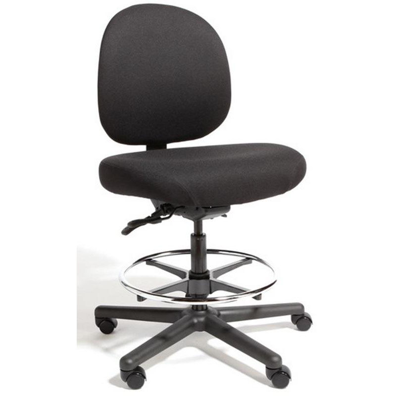 triton max large back midheight drafting chair with 500 lb capacity 4