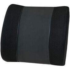 Relaxzen Travel Lumbar Support Cushion - Black