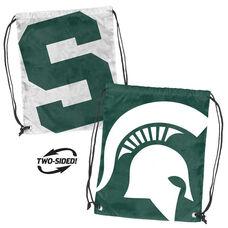 Michigan State University Team Logo Doubleheader Drawstring Backsack