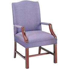 Quick Ship Value Traditional Martha Washington Guest Chair