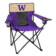 University of Washington Team Logo Elite Folding Chair