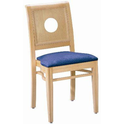 Our 595 Stacking Chair w/ Upholstered Seat - Grade 1 is on sale now.