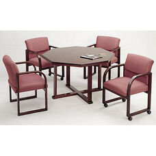 Contemporary Series Wood Conference Octagonal Table