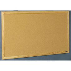 Quick Ship Wood Frame Tackboard - NuCork - 48