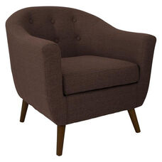 Rockwell Accent Chair in Brown