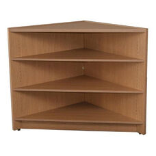 Circulation Corner Display Unit with Adjustable Shelf - 42