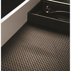 Gray Diamond Plate Design Non-Slip Mat Sheet - 36