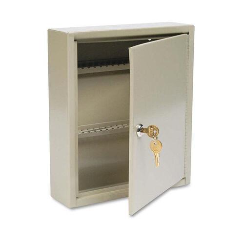 Our SteelMaster® Uni-Tag Key Cabinet - 60-Key - Steel - Sand - 10 5/8 x 3 x 12 1/8 is on sale now.