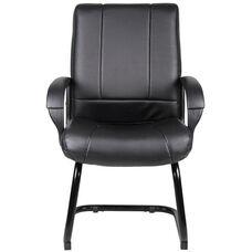 Caressoft™ Mid Back Guest Chair - Black