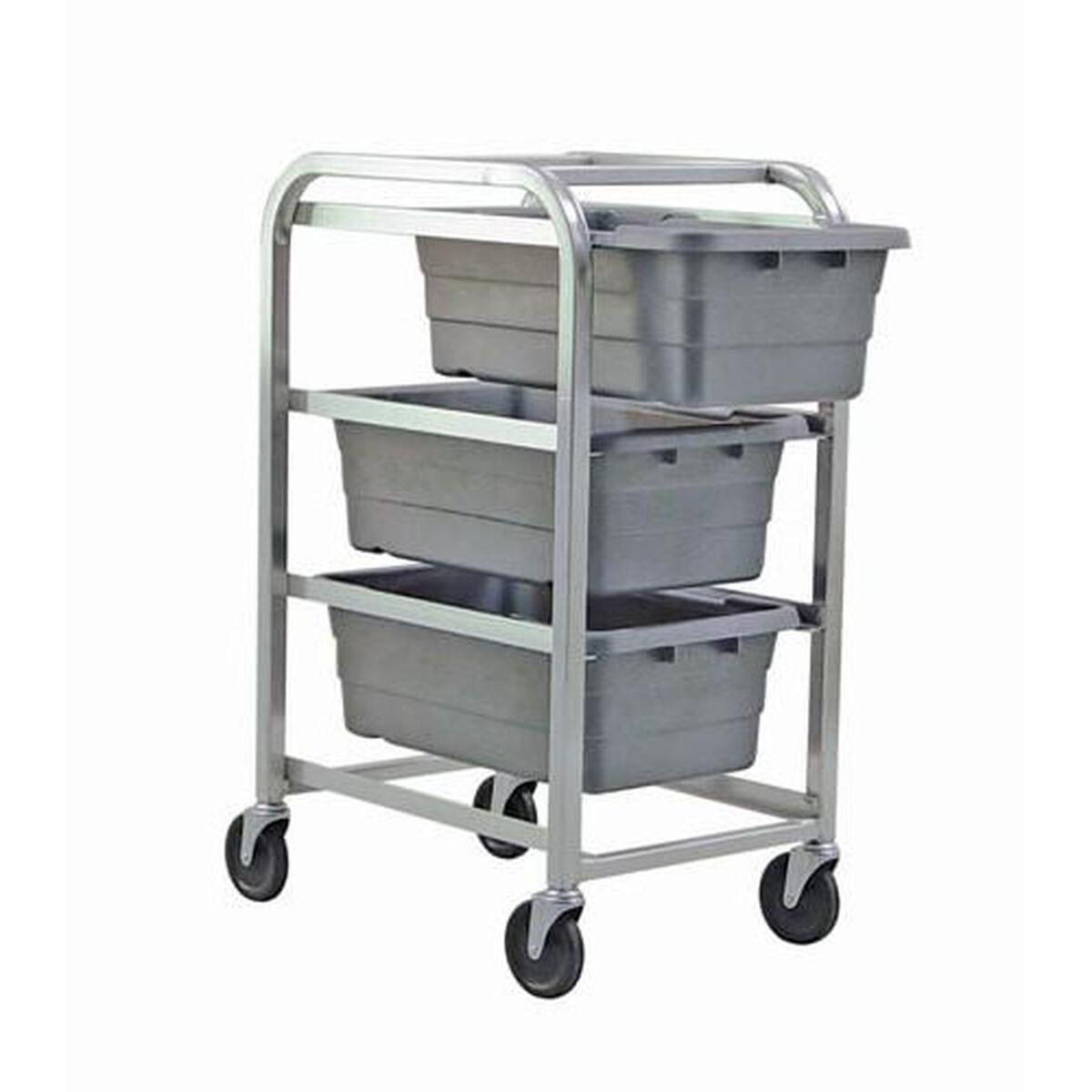 Aluminium Tub Rack with Casters TR3-2516-8-GY | Bizchair.com