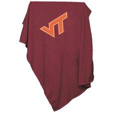 Virginia Tech Team Logo Sweatshirt Blanket