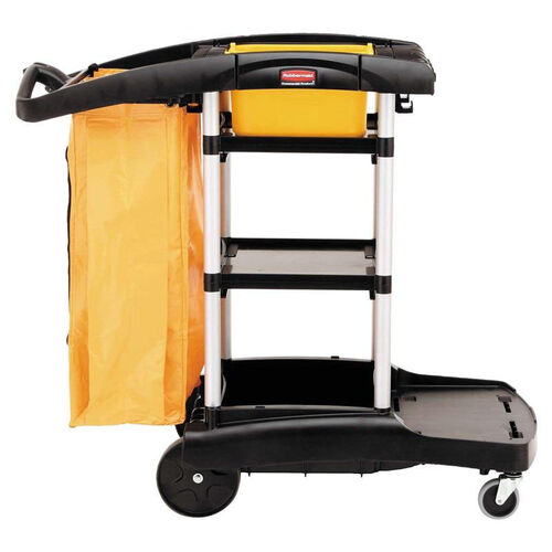 Our Rubbermaid® Commercial High Capacity Cleaning Cart - 21-3/4w x 49-3/4d x 38-3/8h - Black is on sale now.
