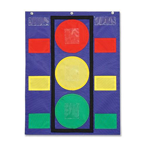 Our Carson-Dellosa Publishing Stoplight Pocket Chart - 14 -1/2