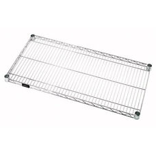 18''W x 60''D Chrome Wire Shelf