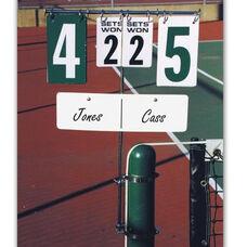 Tennis Steel Swivel Base Scorekeeper