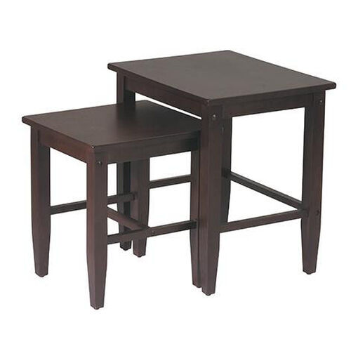 Our OSP Designs 2-Pc. Nesting Tables - Espresso is on sale now.