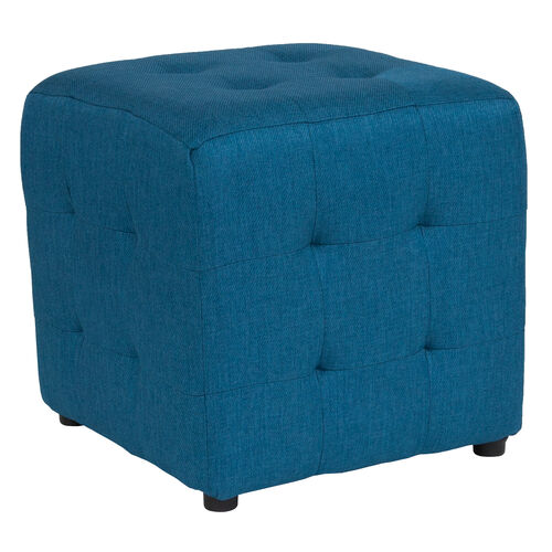 Our Avendale Tufted Upholstered Ottoman Pouf in Blue Fabric is on sale now.