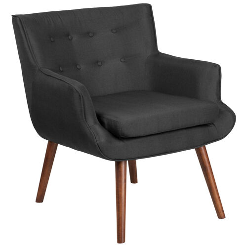 Our HERCULES Hayes Series Black Fabric Tufted Arm Chair is on sale now.