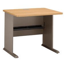 Series A Desk - Light Oak and Sage