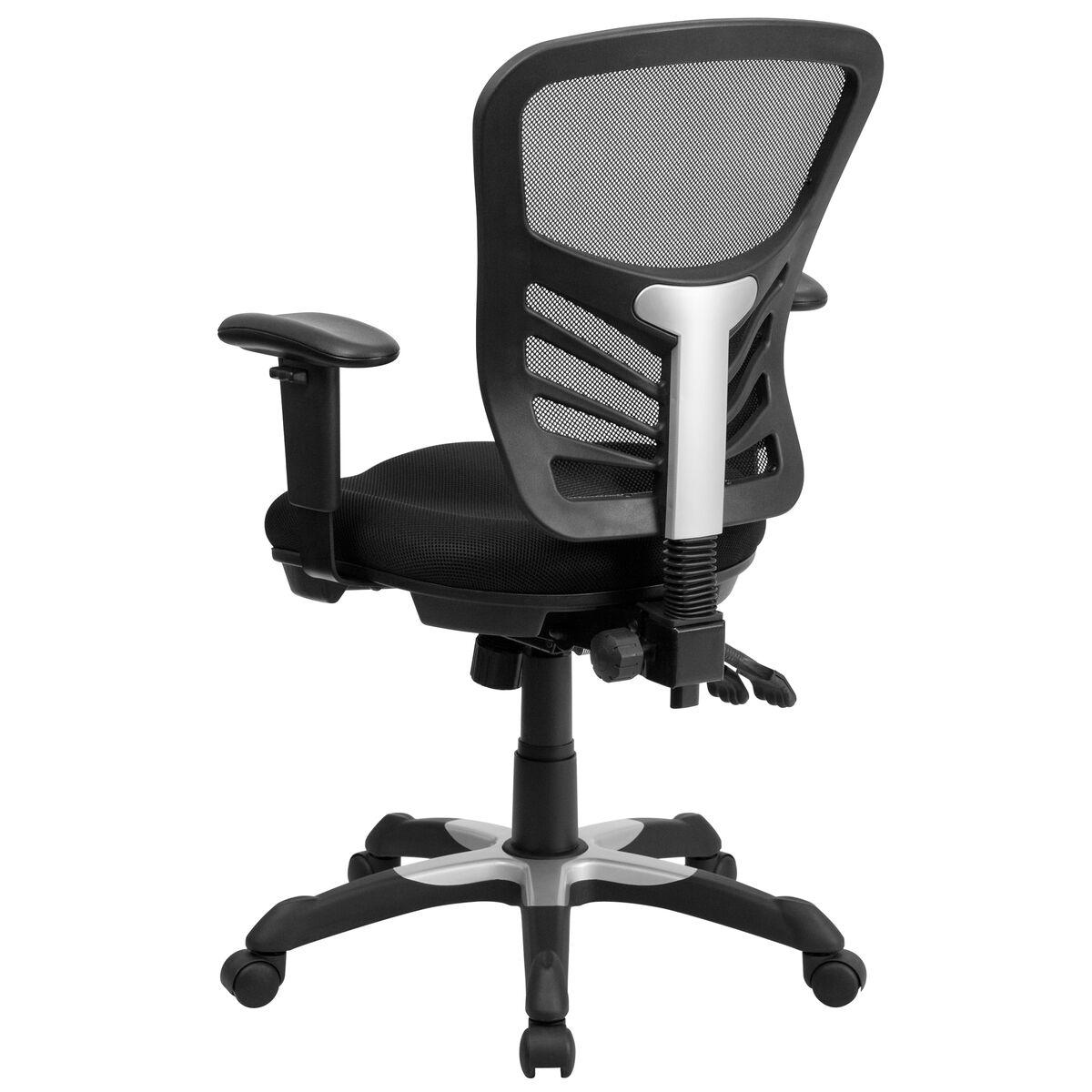black mid back mesh chair hl 0001 gg bizchair com