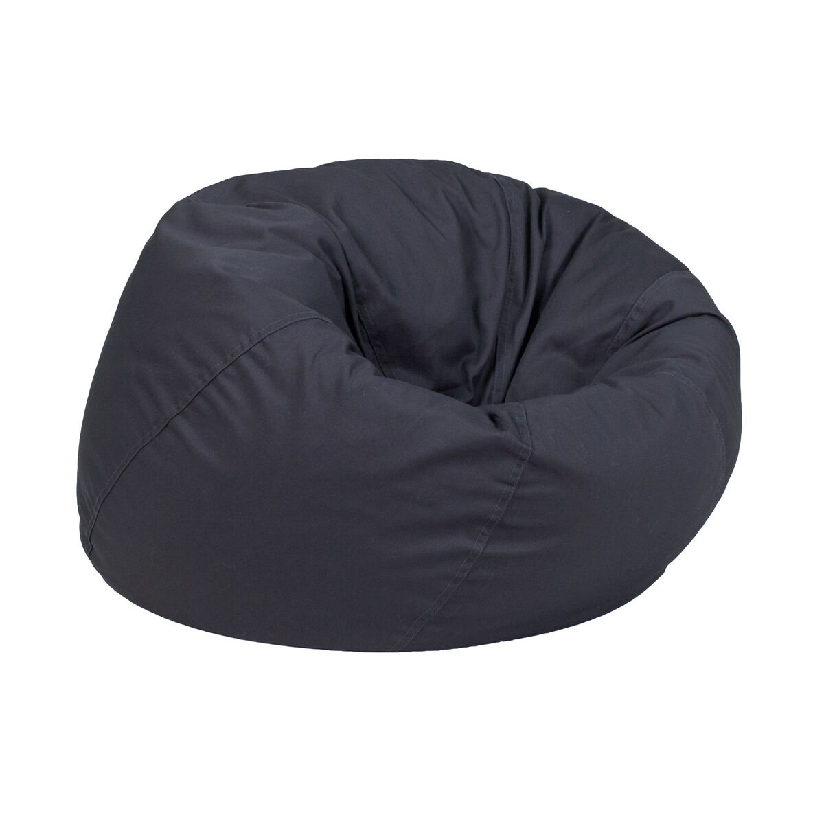 Our Small Solid Gray Kids Bean Bag Chair Is On Now