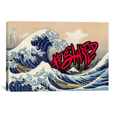 Shred by 5by5collective Gallery Wrapped Canvas Artwork