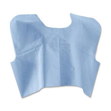 Medline Disposable Blue Patient Capes