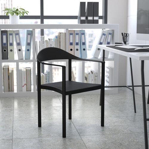 HERCULES Series 1000 lb. Capacity Plastic Cafe Stack Chair