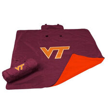 Virginia Tech Team Logo All Weather Blanket