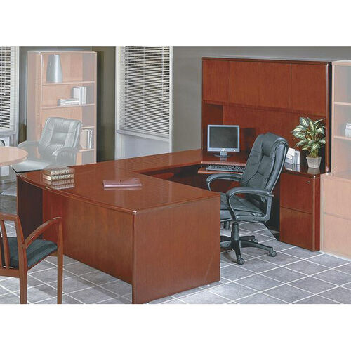 Our OSP Furniture Sonoma Collection U-Shaped Desk with Hutch - Cherry is on sale now.