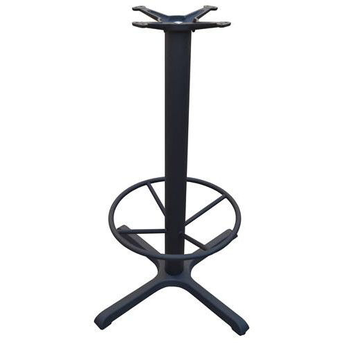 4 Prong Cast Iron Bar Height Table Base with 22