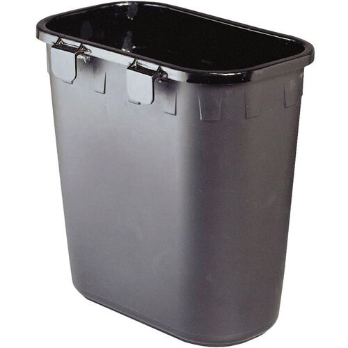 Hanging Paper Pitch Recycle Containers - Set of Twelve - Black