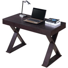 Techni Mobili Trendy Writing Desk with Drawer - Espresso
