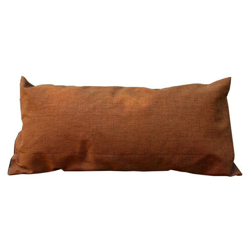 Deluxe Weather Treated Polyester Hammock Pillow with Removable Cover - Marlin Linen Brown