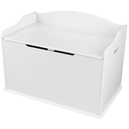 Our Austin Wooden Spacious Toy Box with Bench Seating Flip-top Lid - White is on sale now.