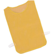 Youth Nylon Mesh Pinnie in Gold - Set of 12
