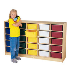 25 Tub Single-Sided Storage Unit