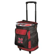 University of Nebraska Team Logo Rolling Cooler