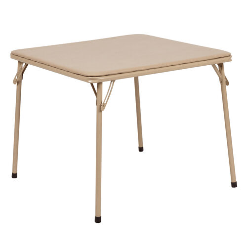 Our Kids Tan Folding Table is on sale now.