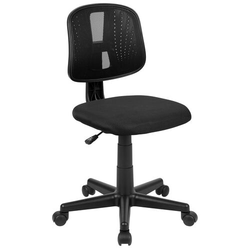 Our Mid-Back Mesh Swivel Task Office Chair with Pivot Back is on sale now.