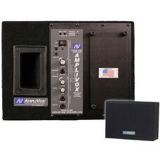 Satellite 250 Watt Wireless Powered Dual Speaker with Fifty Watt Amplifier and Receiver - 13.5