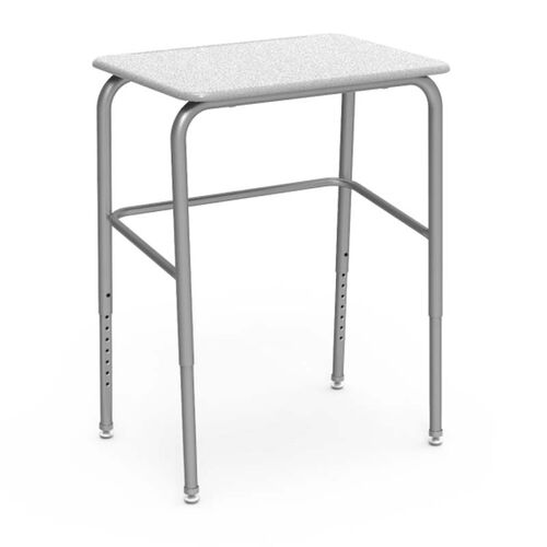 Our 72 Series Adjustable Height Student Desk with Chrome Legs - 18