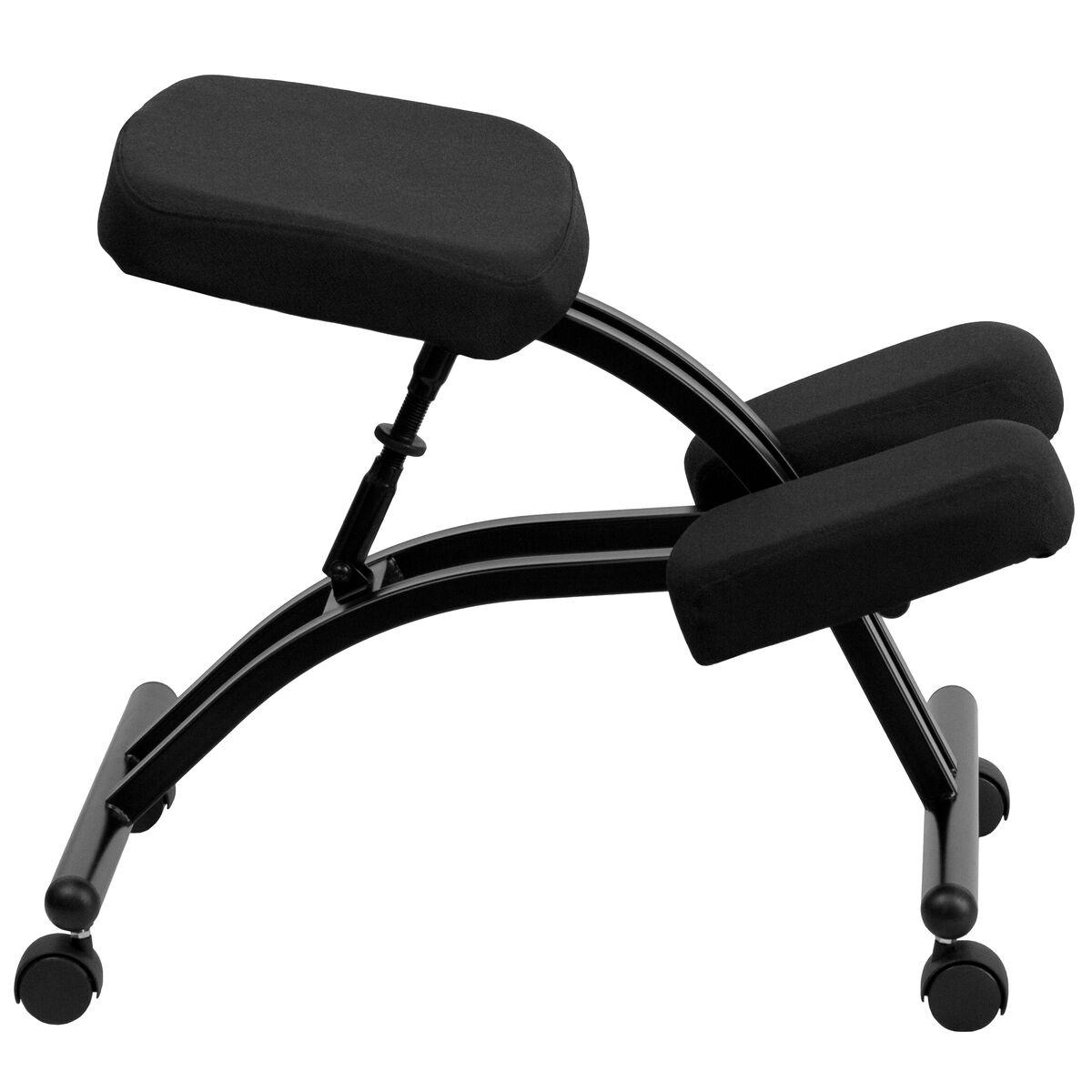Rocking kneeling chair - Images Mobile Ergonomic Kneeling Chair