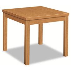 HON® Laminate Occasional Table - Rectangular - 24w x 20d x 20h - Harvest