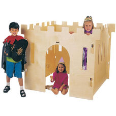 Childrens Castle with Four Interlocking Walls - Queen