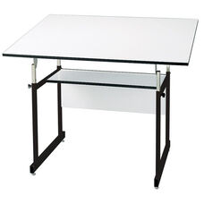 Black WorkMaster Jr Drawing Table - 31